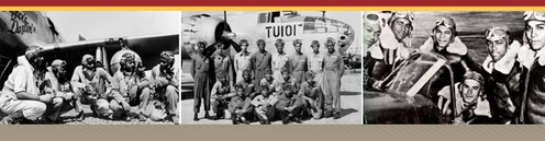a history of the tuskegee airman squadron